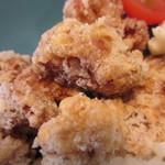 コブデリ食堂 - 鶏の唐揚げアップ