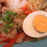 コブデリ食堂 - チャプチェ、ゆで卵アップ