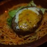 こがねちゃん弁当 - 料理写真:ナポリチーズバーグ