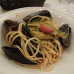 ラ・テンダ・ロッサ - ムール貝のスパゲッティ