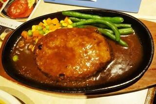 肉の大山 - 肉の日ハンバーグ290円