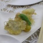 きし野 - 料理写真:天麩羅、松茸、のどぐろ