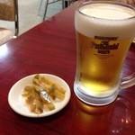 隆昌園 東戸塚店 - ビールはプレモル