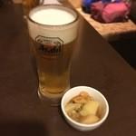 三代目網元 魚鮮水産 - 生ビールはスーパードライ!