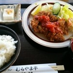 32290462 - チキンカツトマトソース定食 880円