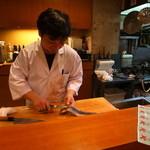 旬膳 よしふさ - 魚の仕入れのエピソード(u_u)vあ~だこ~だw       一流料亭のお味ですが(u_u)vお値段ローカルなのデスw