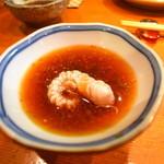 旬膳 よしふさ - カワハギ(u_u)vぽん酢で頂きマスルw