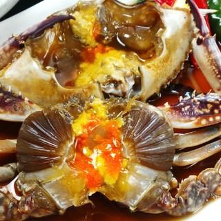 福岡でわたり蟹のしょうゆ漬カンジャンケジャンがあるお店。