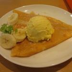 32293812 - 発酵バターとハチミツのクレープ+バニラアイス