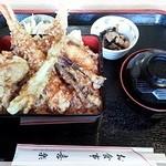 喜楽食堂 - 天重 920円 2014.11.1