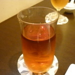 中国料理 かなめ - ☆ウーロン茶をゴクリ(^u^)☆
