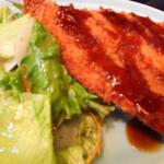 中川 - 鯵フライ定食