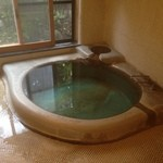 山荘無量塔 - 専用の温泉風呂