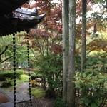 山荘無量塔 - 部屋の廊下からの風景