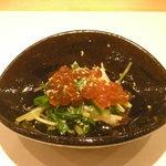 法善寺 山岡 - いくらの前菜