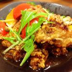 おやじの台所 - 鶏唐揚げの南蛮風