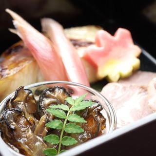 岡山の地の食材をどうぞ。