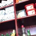 韓国家庭料理 ソウル家 - のり、コチュジャン、焼酎が売ってるみたいです。