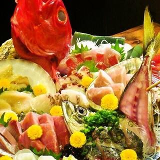 新鮮魚介を毎日ご用意