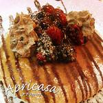 アプリカーサ - チョコベリーのパンケーキ