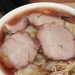 らーめん田丸 - ワンタン麺大盛