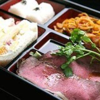 パレットの美味しいが全部詰まってる松花堂お弁当