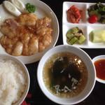 食道楽 - コプチャンランチ 920円
