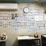 32317065 - 完食した人の張り紙