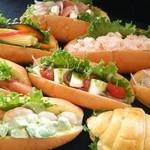 miku. - 料理写真:ヘルシーな野菜のサンドからがっつり系。スィーツサンドまで種類は20種類ご用意しております。