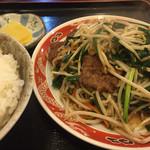 御舟 - レバニラ炒め
