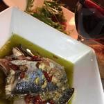 ミュスカ - 秋刀魚のアヒージョ