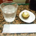 エトワール - サービスのチョコレート☆♪
