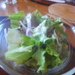 レストラン 桜 - サラダ