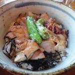 レストラン 桜 - 若鶏照焼き丼