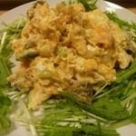 藤乃屋 - カキと卵炒め