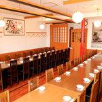 中華料理 萬珍館 - 40名様まで可能な個室です。