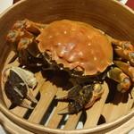 32328425 - 上海蟹の姿蒸し:3,200円