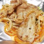 厚焼き豚キムチ