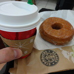 スターバックス・コーヒー - ホット(ショート)&シュガードーナツ