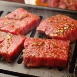 焼肉グレート - 当日限定5食!予約必須の厚切りハラミ 1900円(税別)