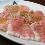 焼肉グレート - 入荷困難の極みホルモン 850円(税別)