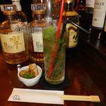Bar Dio - モヒート ここのモヒート飲んだら他では飲めません(*^_^*)バーテンダーによって味も違うので楽しんでみては?アルコール度数高め