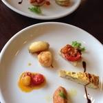 トラットリア クアクア - 前菜