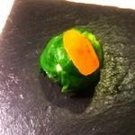 マンサルヴァ - 芽キャベツと塩鱈のボッコンチーノ