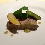 ラ・フランス亭 - 小前菜は鴨肉の…♬