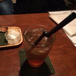 32334595 - あんず黒酢サイダー600円