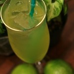 Homemade Lime Juice 自家製ライムジュース