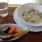 32335490 - スープと温野菜