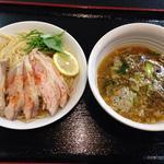 ロッキー - 料理写真:鶏醤油つけ麺