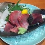 稲茶 - 2014年7月17日 カキフライと焼酎
